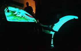 Glow In The Dark Motorbikes Gallery Image 11