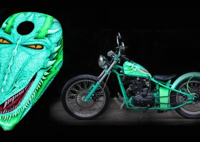 Glow In The Dark Motorbikes Gallery Image 6
