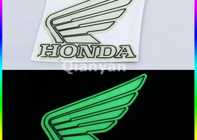 Glow in the Dark Decals