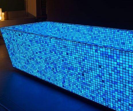 glow in the dark tiles bathrooms