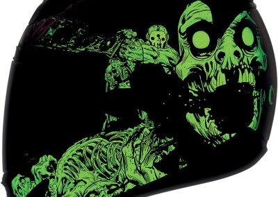 Glow in the Dark helmets 1
