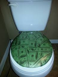 Glow in the Dark toilet cover