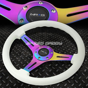 Glow in the dark Steering wheel - in day light