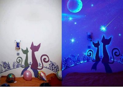 Glow in the dark Wallpaper 10