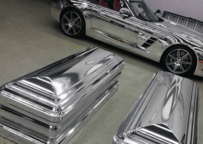 chrome caskets 1